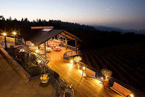 Thomas Fogarty Winery And Vineyards Woodside Ca