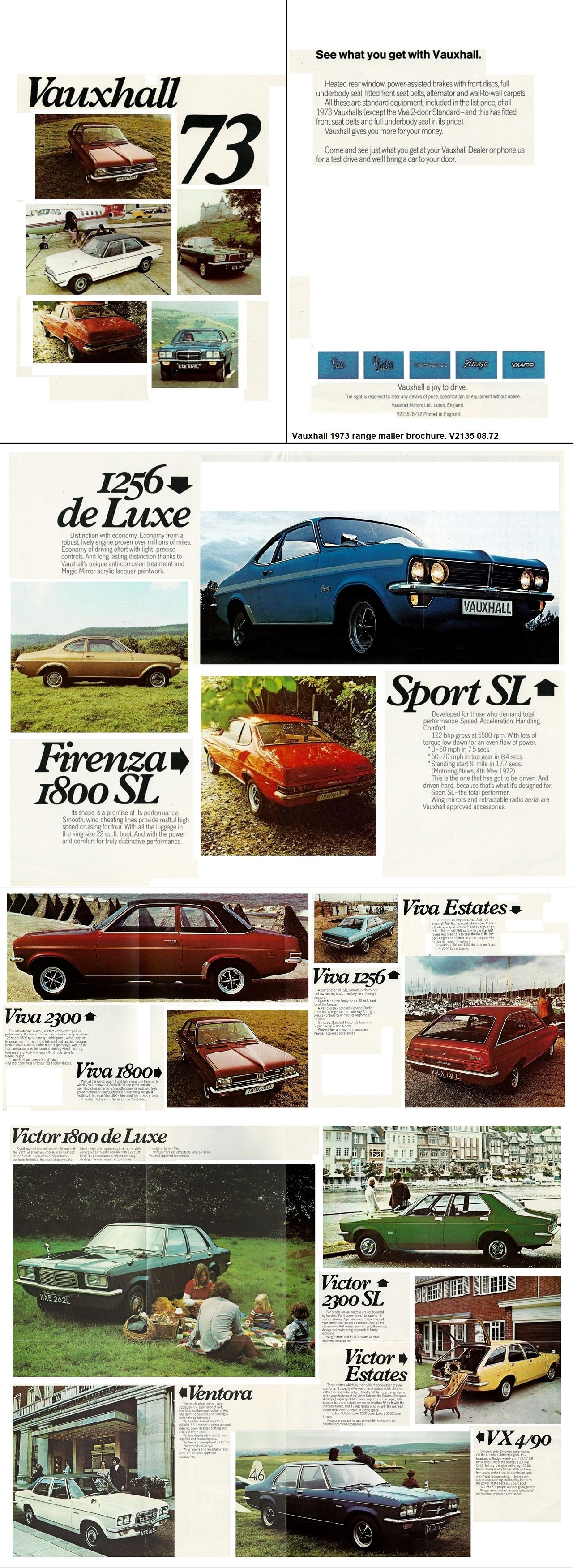 1973 Vauxhall   Old car/truck advertising   Pinterest   Weird cars ...
