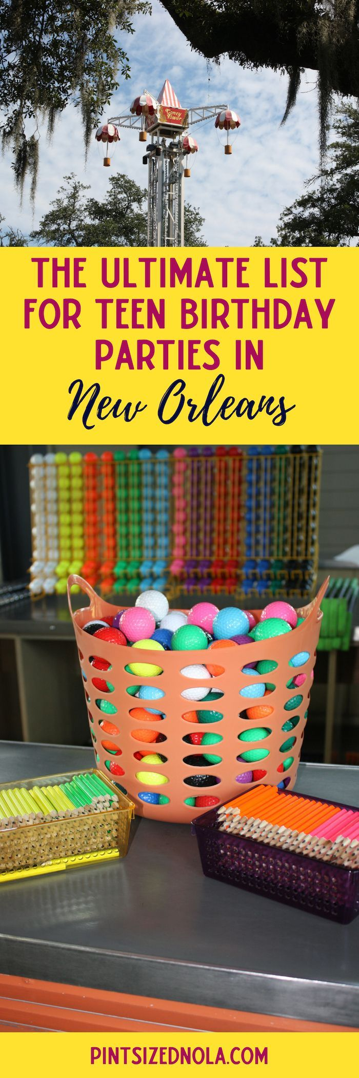 Teen Birthday Parties In New Orleans The Ultimate List Of Locations That Are Perfect For And Tween