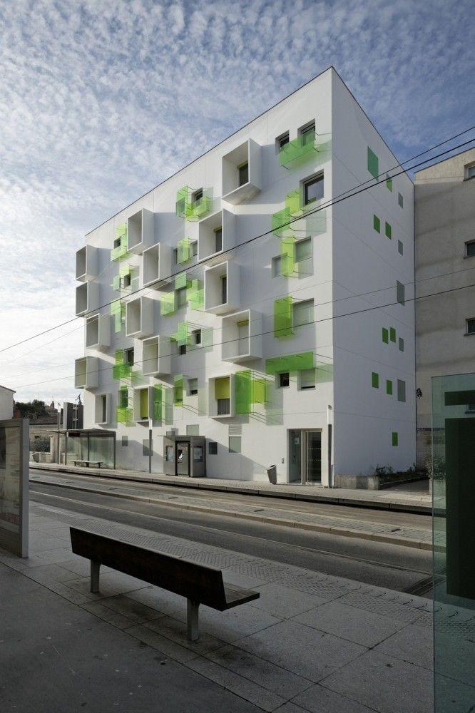 agence bernard b hler nova green bordeaux france 2012 housing collective architectures. Black Bedroom Furniture Sets. Home Design Ideas