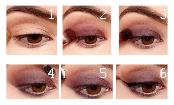 Cazadora de Tendencias: Violet makeup