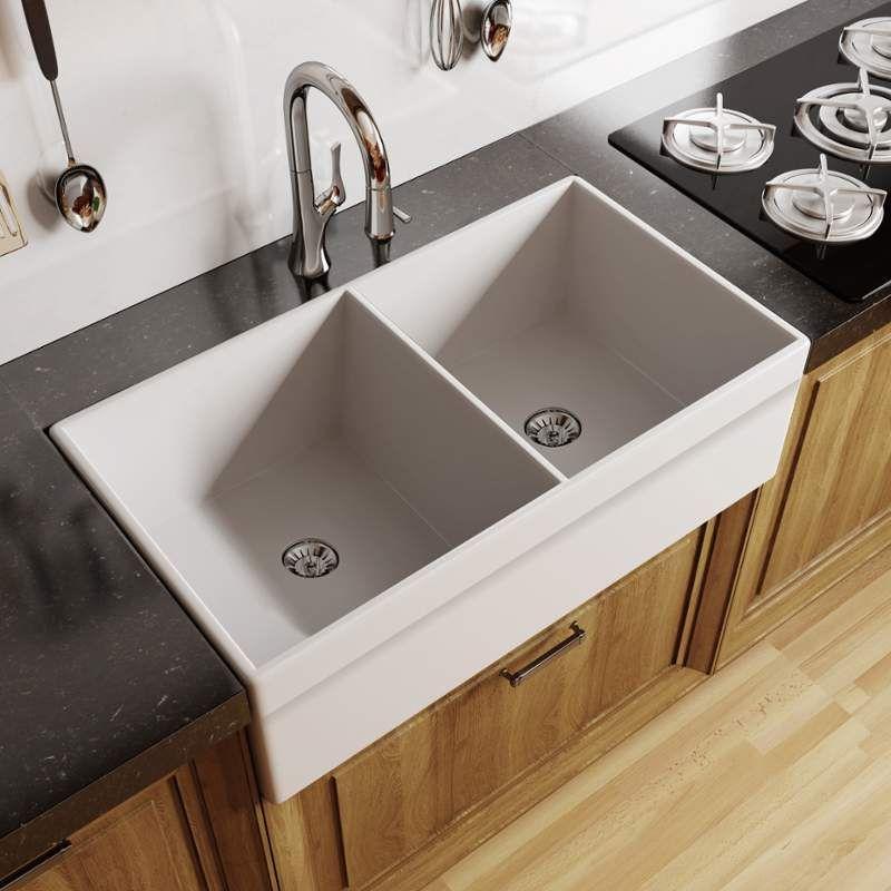 Miseno Mno3320fc Modern Kitchen Design Rustic Kitchen Sinks