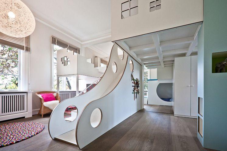Modernes Kinderzimmer auf mehr als 85 Quadratmetern in Hamburg ...