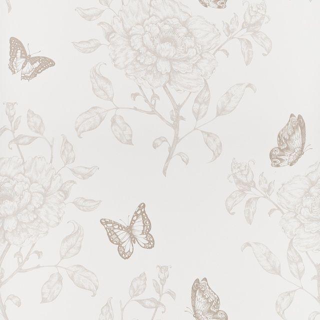 Papier Peint Vinyle Sweety Motifs Fleurs Taupes Dimensions Du Rouleau Longueur 10 05 M X Largeur 0 53 M Qualit Papier Peint Papier Peint Vinyle Vinyle