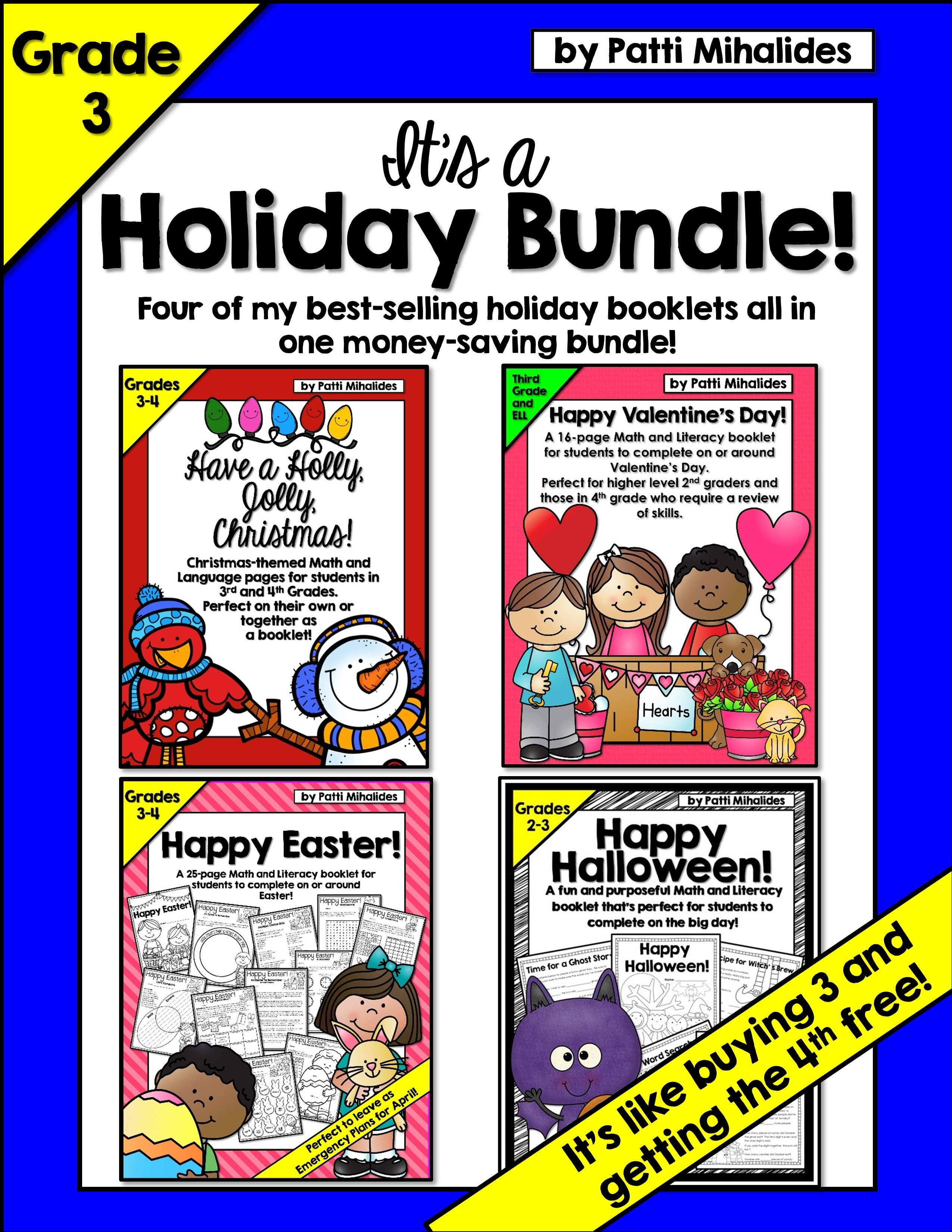 Halloween Christmas Valentine S Day Easter Activity Book