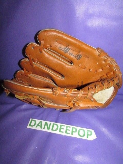 Franklin Youth Baseball Mitt Left Hand Bo Jackson Leather Laced 4611 Baseball Mitt Youth Baseball Youth Baseball Gloves