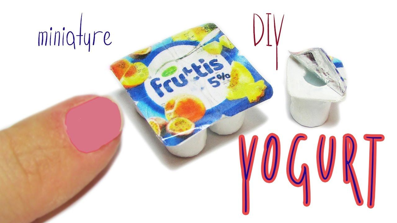 DIY miniature Yogurt - Really Desserts