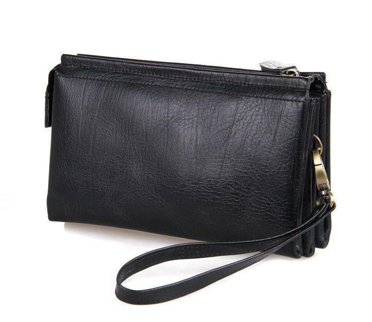 797296ed1e6c Кожаный клатч JMD 8071A-2 – в интернет-магазине clutch-clutch.com.ua.  Натуральная кожа. Размеры: 20 *11.5 * 4.5 см. #мужскойклатч #кожаныйклатч
