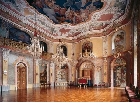 Bildergalerie Durch Die Heidecksburg Burgen Und Schlosser Barockschloss Festsaal