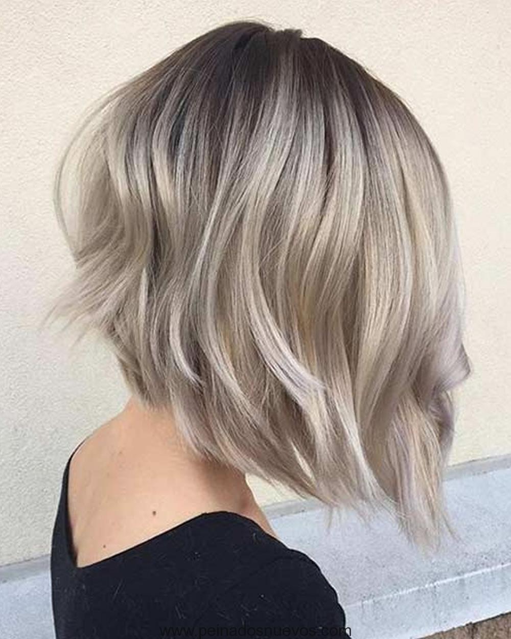 Color de cabello 2018 para cabello corto