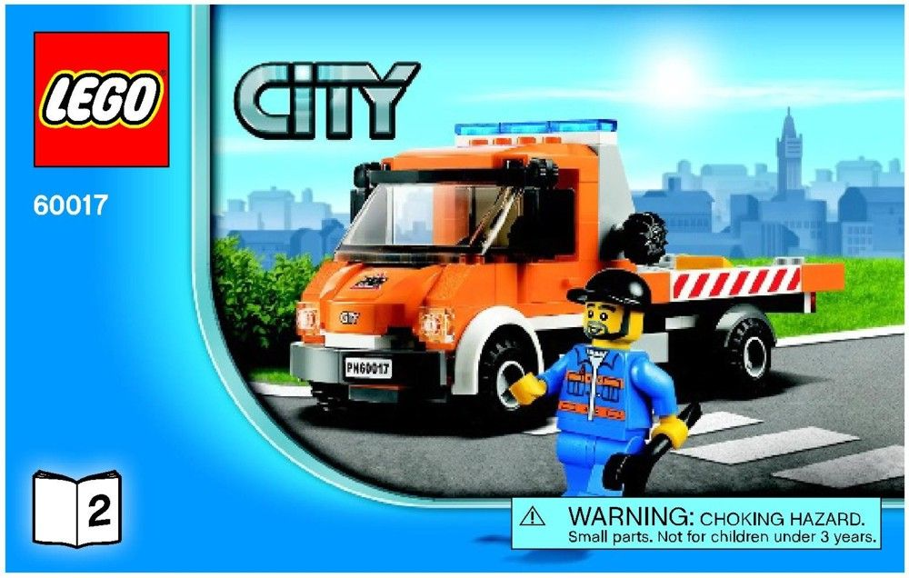 City Flatbed Truck Lego 60017 Jacksons Pinterest Lego