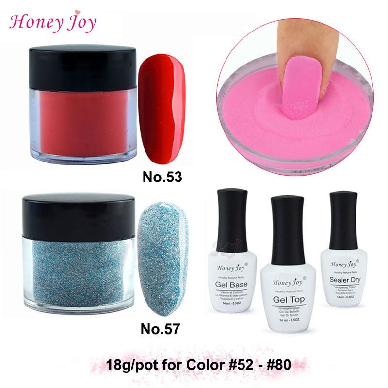 New Arrival Winter Colors 18g/Box Dipping Powder Without Lamp Cure ...