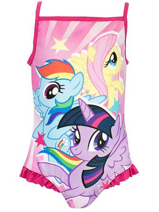 Mein Kleines Pony Mädchen My Little Pony Badeanzug 92 ...