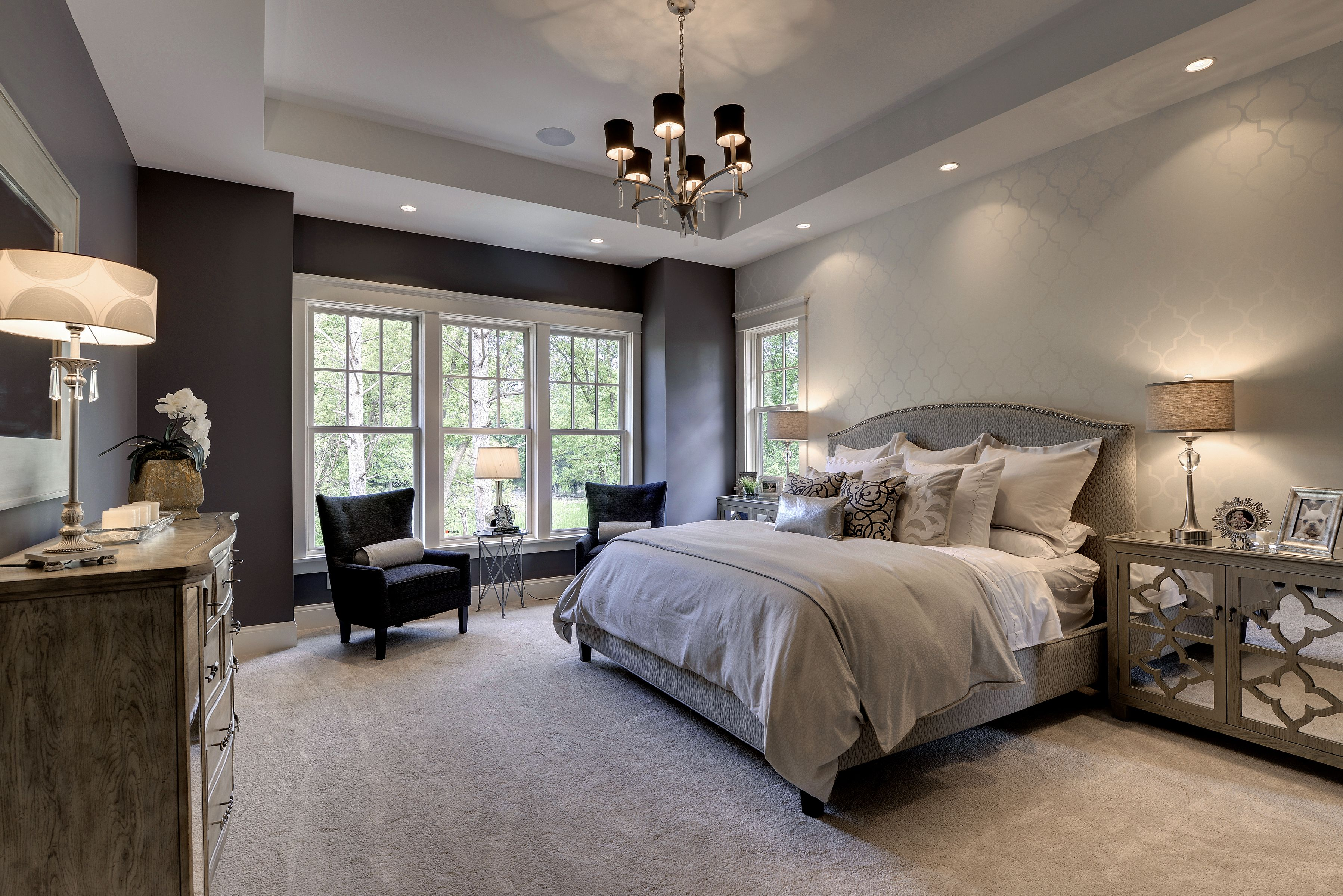 Romantic Master Bedroom Designs Professionally Staged By Ambiance At Home Master Bedroom