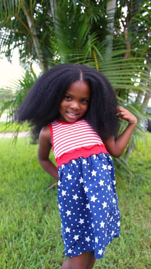 Gabbie Age 5 Natural Blowout Naturalkids Naturalhair Hair