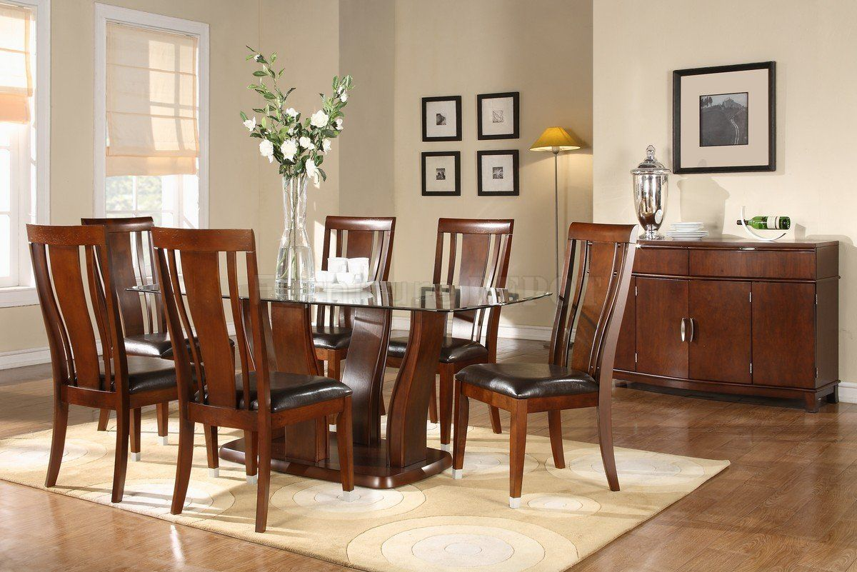 Httpfovipaawesomewooddiningroomfurniturewithglass Extraordinary Dining Room Tables With Glass Tops Review