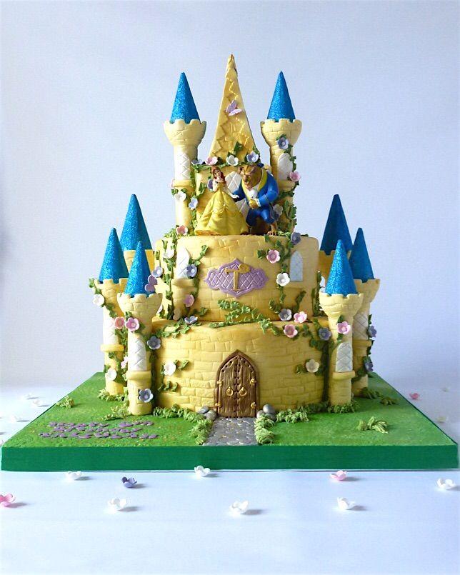Beauty And The Beast Fairy Castle Cake Sometimes I Make A