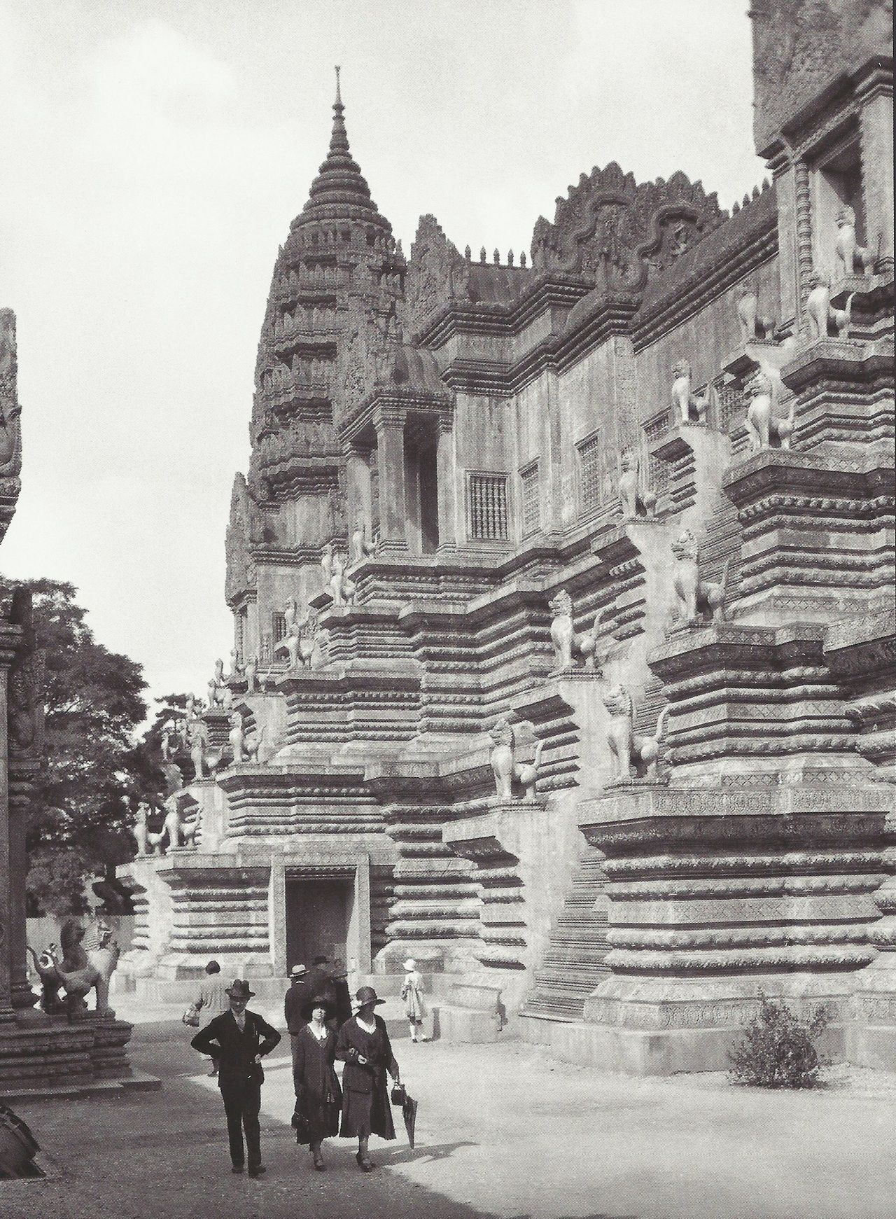 1931 Temple D Angkor Vat Exposition Coloniale