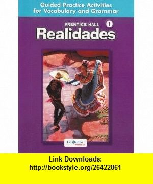 Realidades Level 1 Guided Practice Activities for Vocabulary