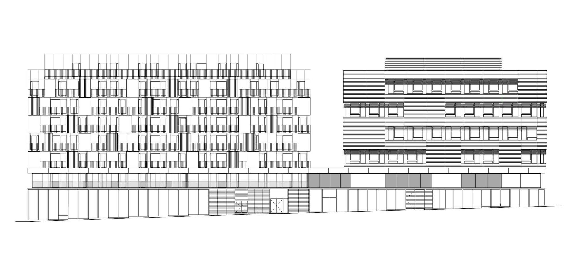 Gallery - Block 32 / Tectoniques Architects - 15