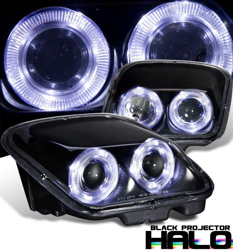 Chevrolet Corvette C5 19972004 Halo Projector Headlights