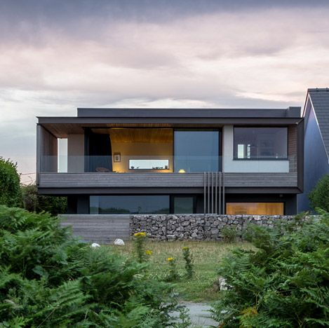 Welsh Seaside Home | Built | Pinterest | Moderne Häuser, Innenarchitektur  Und Architektur