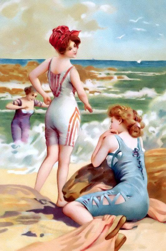 vintage beach - Cerca con Google