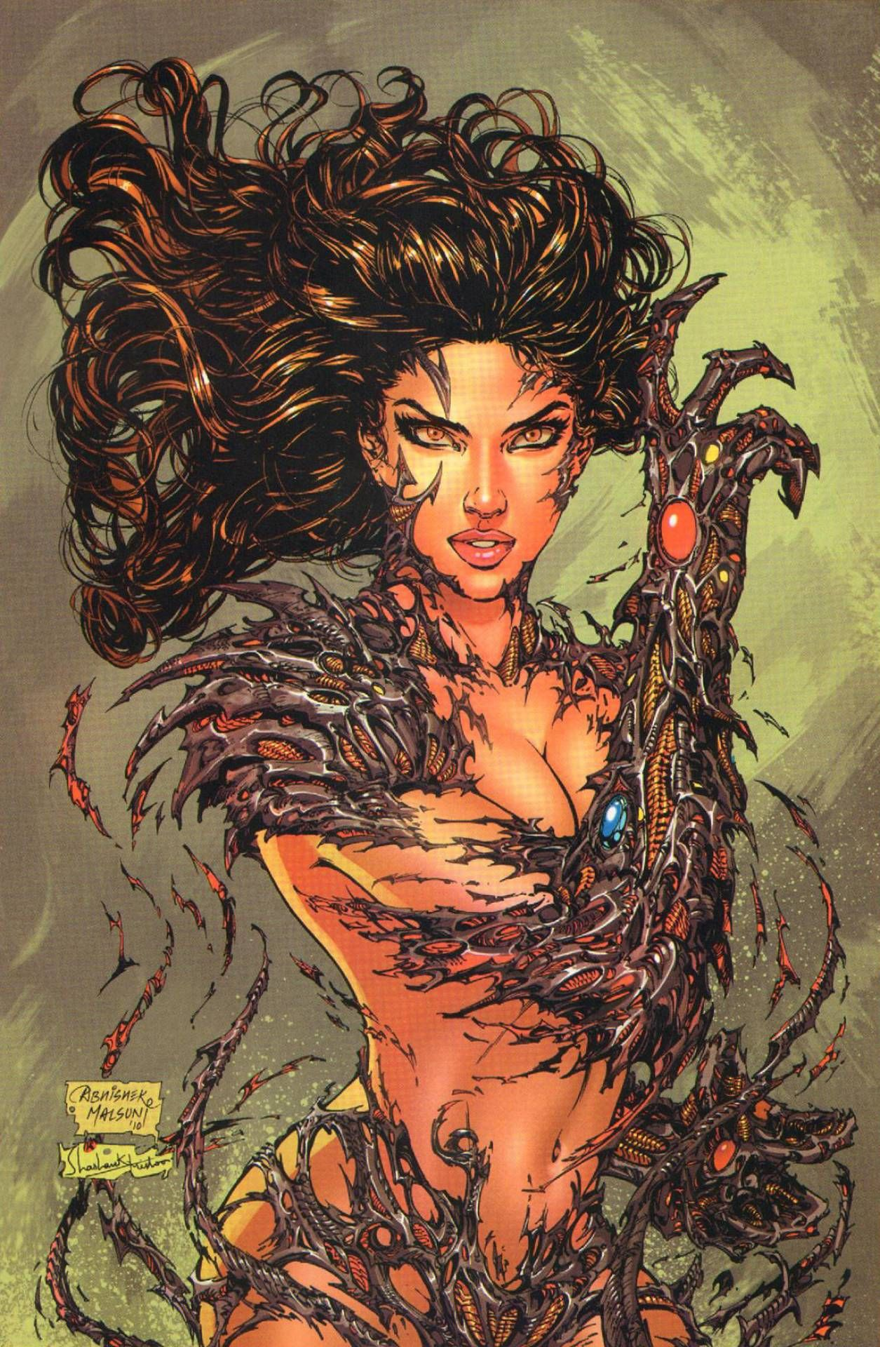 Witchblade With Images  Comics Artwork, Comic Book -7284