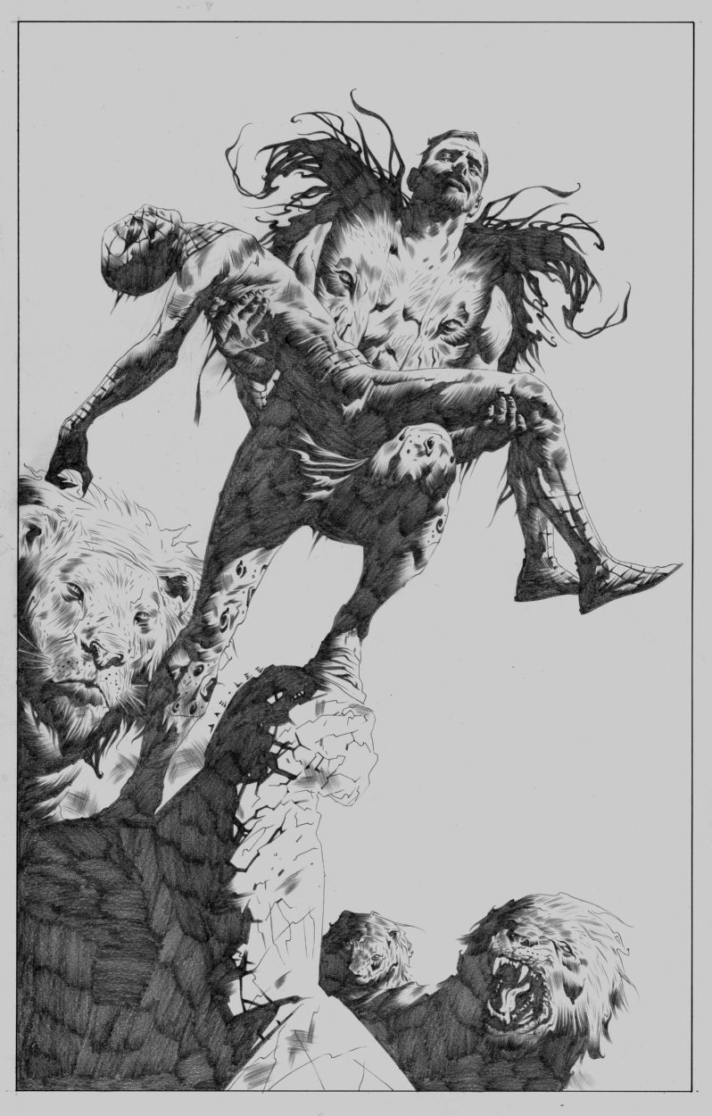 Jae Lee Spider-man Kraven Commission, in Mark Hay's ...