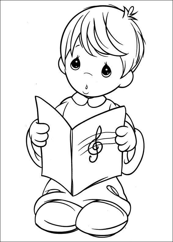 Dibujos Preciosos Momentos Con Libros Buscar Con Google Precious Moments Coloring Pages Coloring Books Coloring Pages
