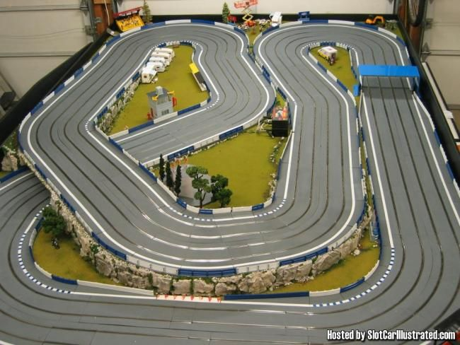 Google Image Result For Http Www Slotcarillustrated Com Portal Forums Picture Php 3falbumid 3d170 26pictureid 3d261 Slot Cars Slot Car Tracks Slot Car Racing