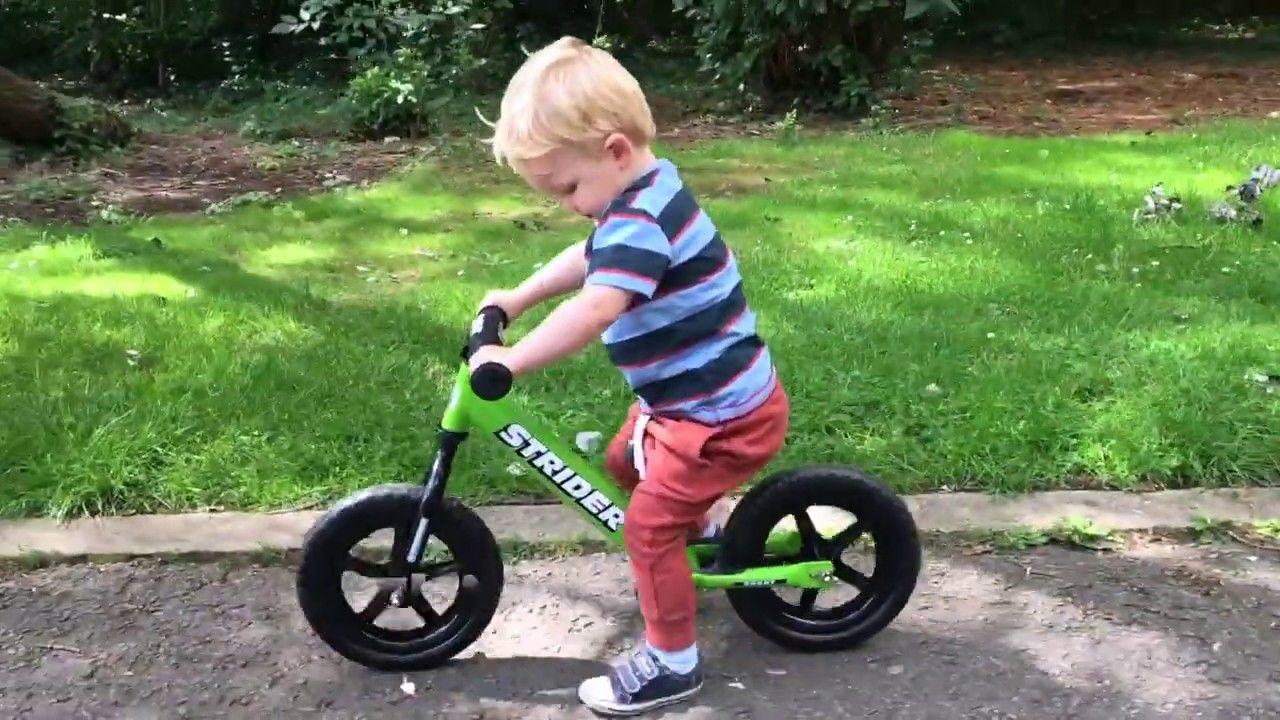 Lachlan's Strider Balance Bike to Pedaling Pro Journey