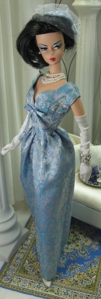 Maggy Rouff Revisited for Silkstone Barbie on Etsy very soon