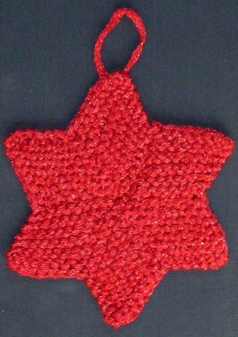 NOT THE FINISHED CRACKER KNITTING PATTERN KNIT IN LACE CHRISTMAS CRACKER