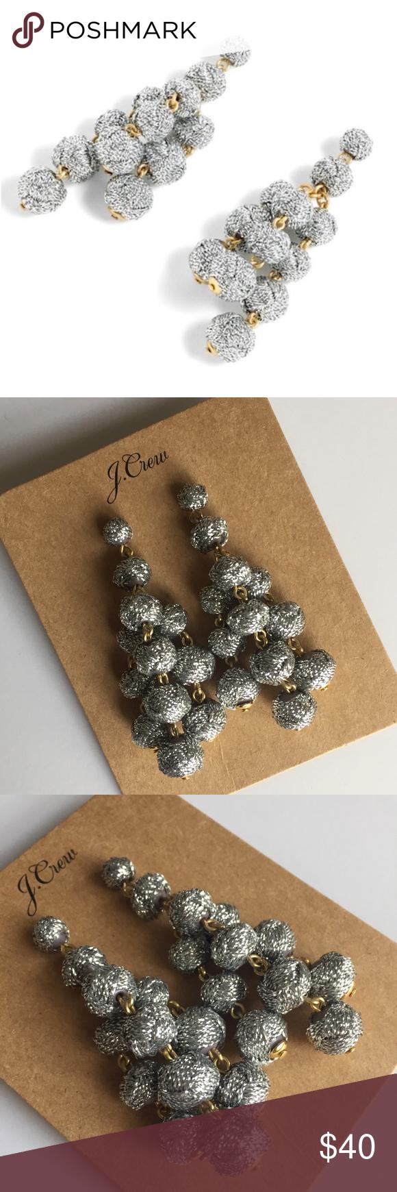 sale   j crew   love knot chandelier earrings   Chandelier ...