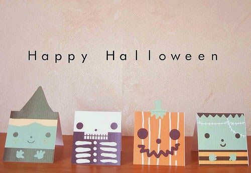 Halloween Decoration free printable Inviti al party, confezioni di - halloween decoration printables