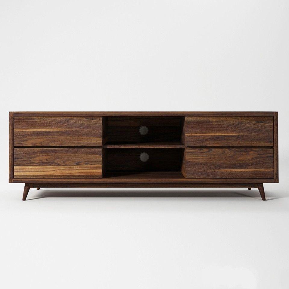 Media Furniture Stores: VINTAGE WALNUT TV CHEST