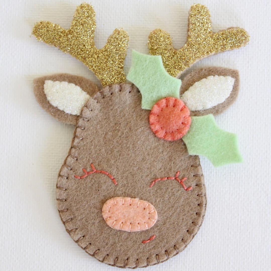 26+ Christmas felt crafts templates ideas