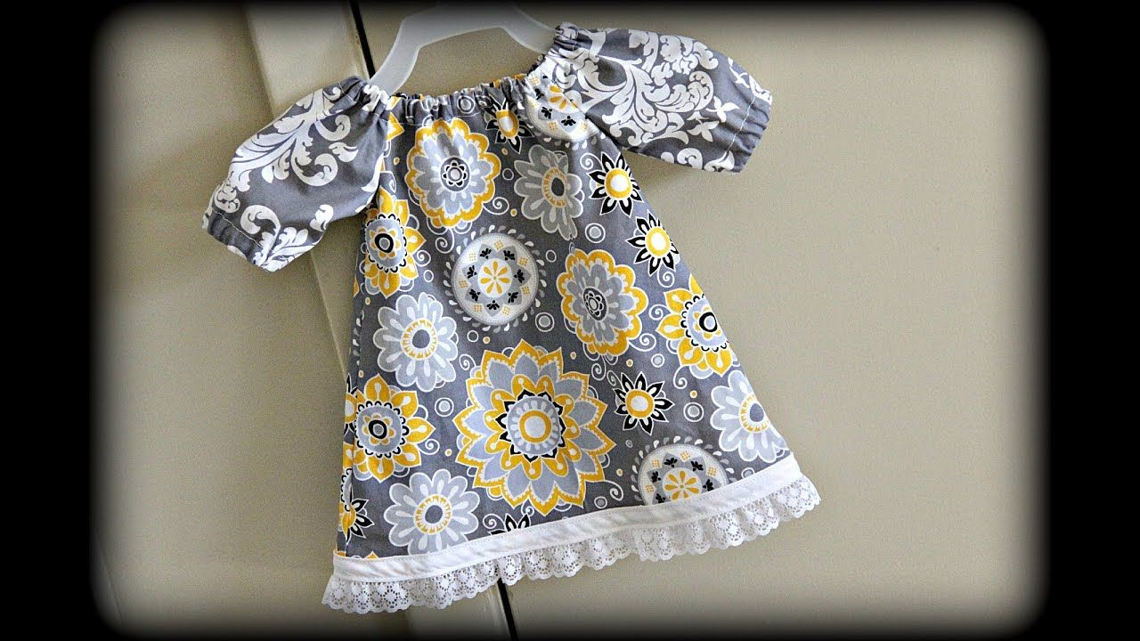 Baby dress sewing for beginners youtube sewing