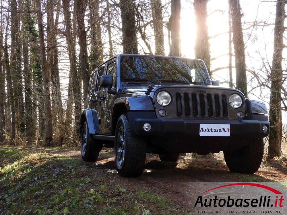 Jeep Wrangler Unlimited 2 8 Crd Night Eagle Automatica 200cv
