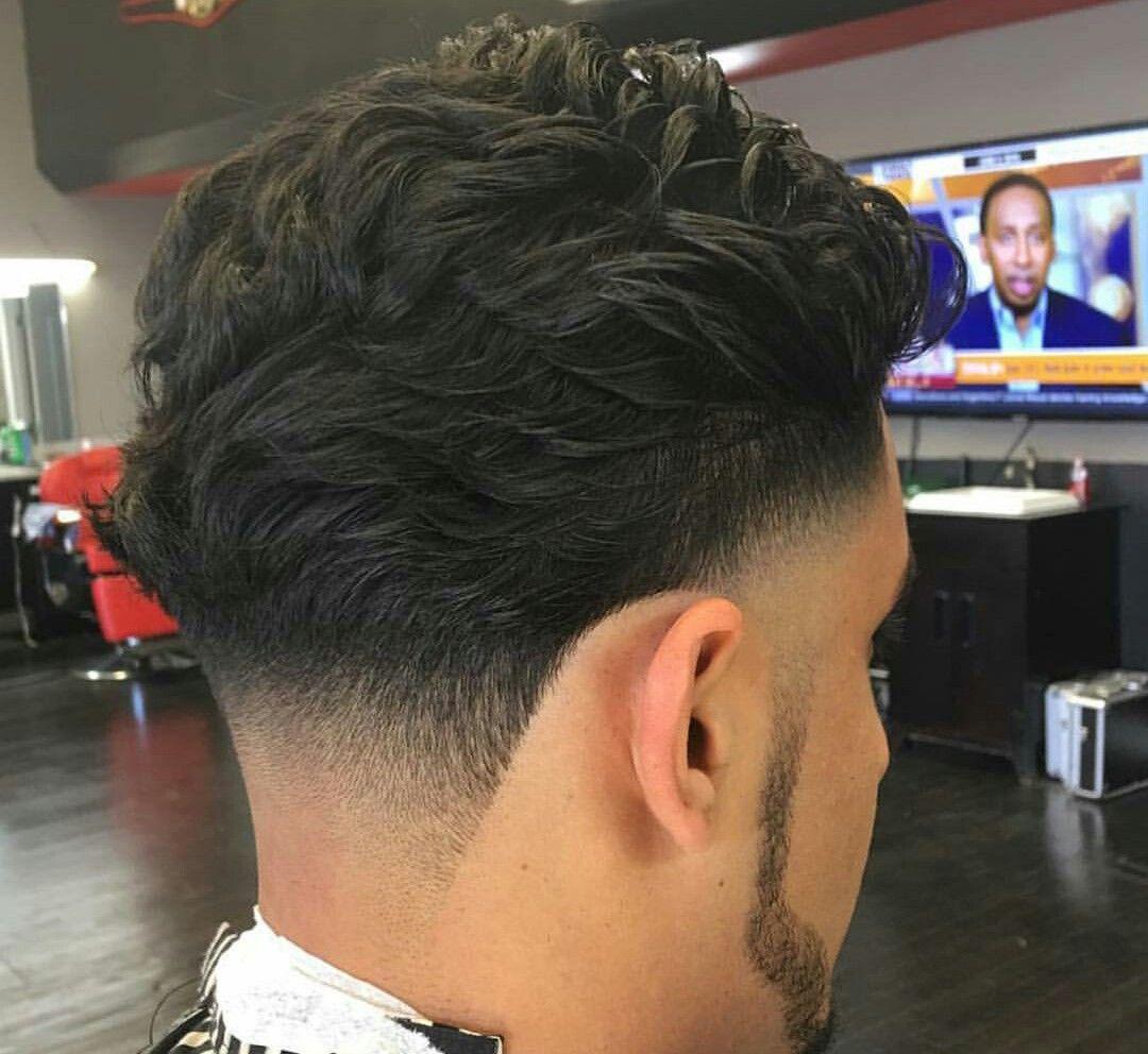 Pin By Jessy Ro On Baber Life Curly Hair Men Wavy Hair Men Fade Haircut