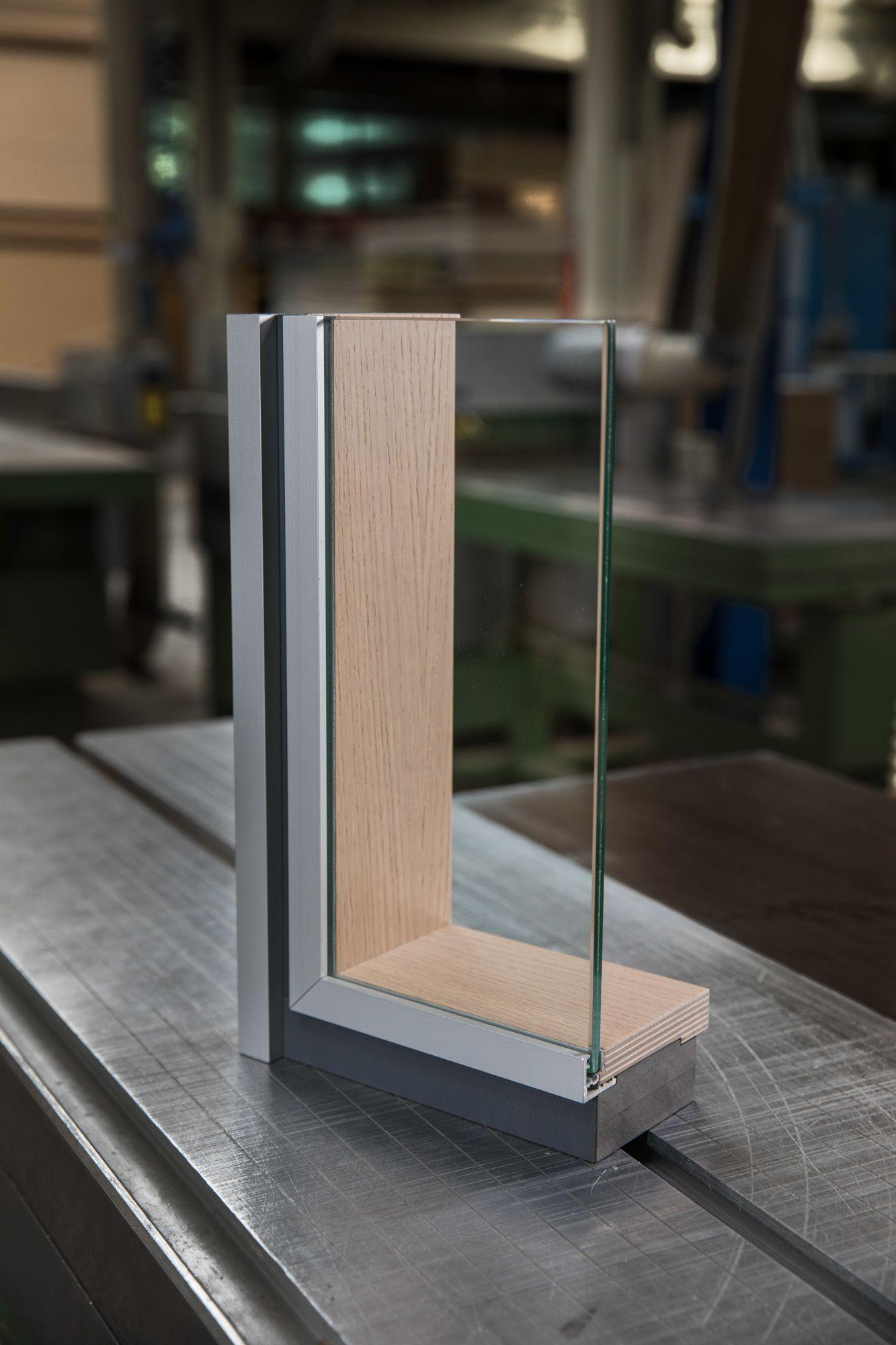Handmuster Ts1 Gl Trennwand Glasscheiben Raumaufteilung
