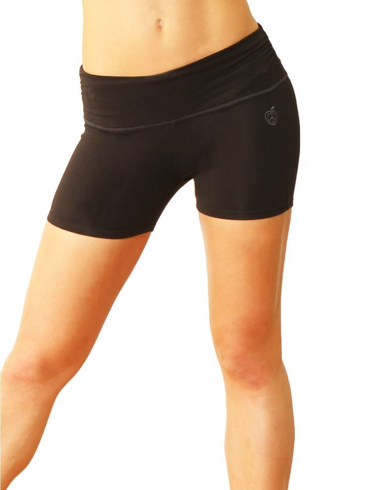 Our Highly Breathable Bamboo Yoga Gym Short Gives You Support Where