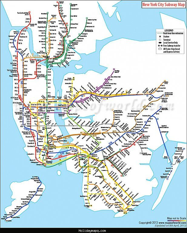 To Scale Nyc Subway Map.Pin By Serkan Cesmeciler On My News In 2019 Nyc Subway Map Subway