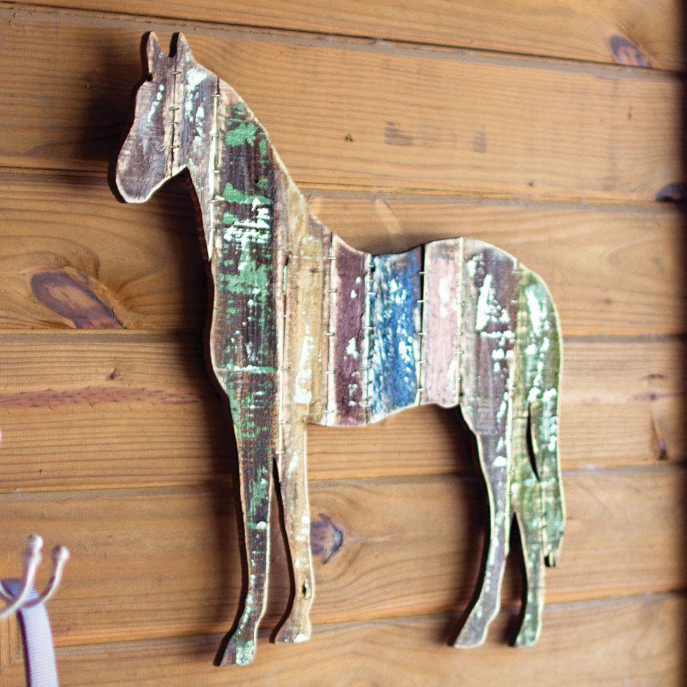 Vintage Horse Wood Wall Art Brain S Pad Update Vintage Horse