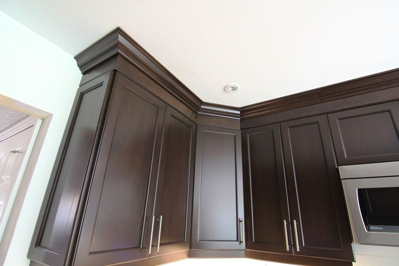 how cut crown molding angles for kitchen cabinets wall cabinet ...