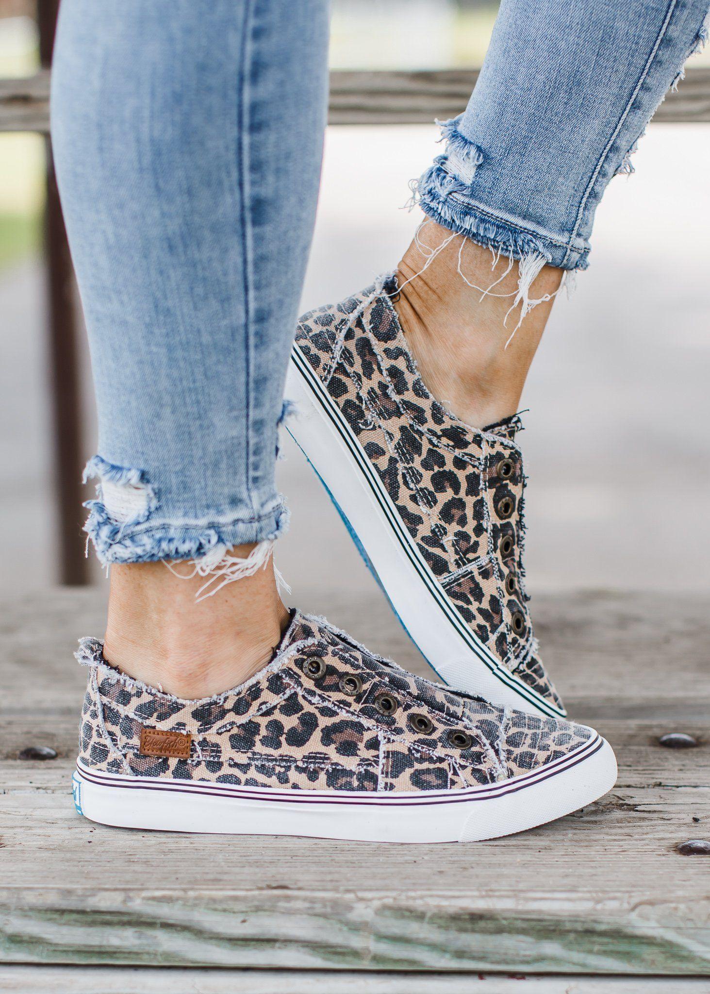 Blowfish Leopard Shoes ( 6-11