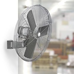 Oscillating Fan Wall Mount Fan In Stock Uline Wall