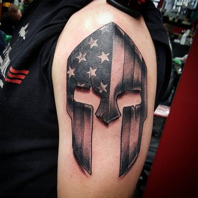 Spartan Tattoo33 Spartan Tattoo Spartan Tattoo Tattoos Spartan