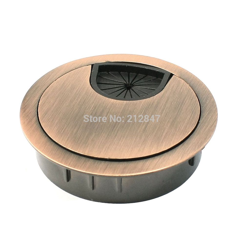 Computer Desk Metal Grommets Wire Cable Hole Round Cover 0mm Auto Harness Connectors China Assembly